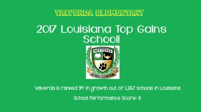 Valverda named 2017 TOP GAINS SCHOOL